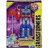 Transformers - Optimus Prime (Cyberverse Ultimate Class Action Figure da 22,5 cm, Si combina con l'armatura Energon per poten