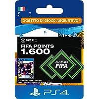 FIFA 21 Ultimate Team 1600 FIFA Points | Codice download per PS4 (incl. upgrade gratuito a PS5) - Account italiano