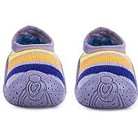u-grow Baby Anti-Skid Breathable Soft & Comfortable Socks Shoes (21, Grey)