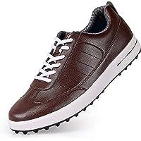 YAO Chaussures De Golf pour Hommes Couche De La Couche De Cowhide Sports Chaussures Super Imperméables Respirant sans…