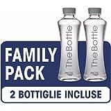 Imetec Acqua The Bottle FB 120 Bottiglia Filtrante, Family Pack