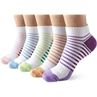Casual Low Cut Sneaker Socks for Women - Breathable Short Ankle Trainer Socks for Running Walking Fitness Outdoor Sports