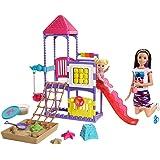 Barbie GHV89 Skipper Babysitters Inc Climb 'n Explore Playground Dolls and Playset