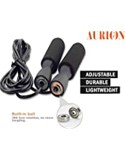 Skipping-Rope Jump Skipping Rope for Men, Women, Weight Loss, Kids, Girls, Children, Adult - Best in Fitness, Sports, Exercise, Workout