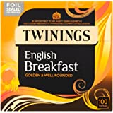 Twinings English Breakfast 100 Btl. 250g (Original englische Version) - Schwarzer Tee