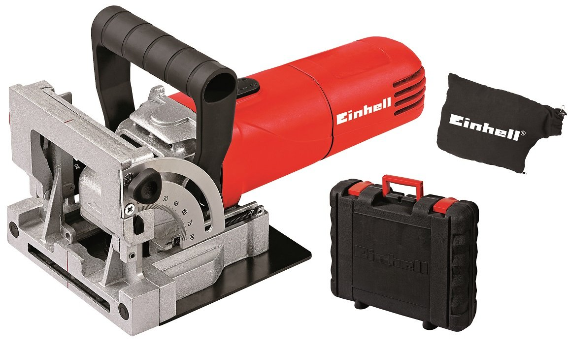 71b jVnETwL - Einhell TC-BJ 900 Complete Biscuit Jointer with Dust Bag