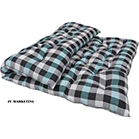 jymarketing Comfort Zone Cotton Mattress, 2 Sleeping Capacity (72X48X4-Inches, Multicolour)