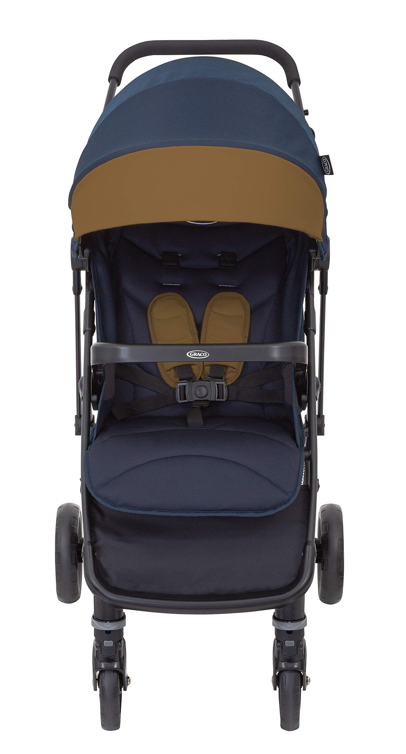 Graco Breaze Lite i-Size Travel System, Eclipse Graco From birth to 3 years approx. (0-15kg) Travel system package with snug essentials isize infant car seat included Lightweight stroller at only 6.5kg 3