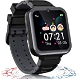 Smartwatch per Bambini , 7 Giochi Musica alarm clock Camera 1,54 pollici HD Touch Screen, regali per ragazzi e ragazze 3-12 a