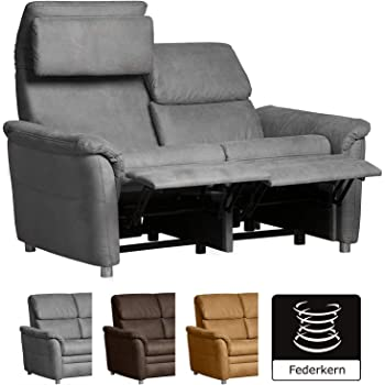 stoff sofa sofagarnitur relaxfunktion relax couch funktionssofa fernsehsofa k che. Black Bedroom Furniture Sets. Home Design Ideas