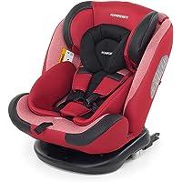 Foppapedretti Iturn duoFIX Seggiolino Auto Girevole 360°, Gruppo 0+/1/2/3 (0-36 kg), per bambini dalla Nascita a 12 Anni…