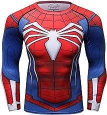 Cody Lundin Männer Superhelden Serie Party Shirt männlich Motion Joging Party im Freien Stil Sport Long Sleeve