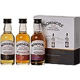 Bowmore 12, 15, 18anni Whisky Miniature–Set (3x 0,05l)