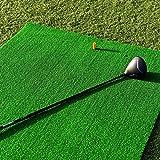 FORB Academy Golf Übungsmatte (150cm x 100cm) - Üben wie die Profis mit der aufrollbaren, tragbaren Abschlagmatte mit 13mm Kunstrasen [Net World Sports] -
