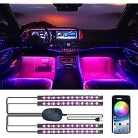 Luci interne per auto YiLaie con controllo app di aggiornamento e controller, illuminazione interna impermeabile sotto…