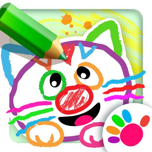 Malen für Kinder! Lernen zu zeichnen im Lernen Spiele für Baby und Kindergarten! Kleinkinder Malbuch! Lernspiele für Kleine Kinder ab 2 3 4 5 jahre! Gratis für Mädchen und Jungen!