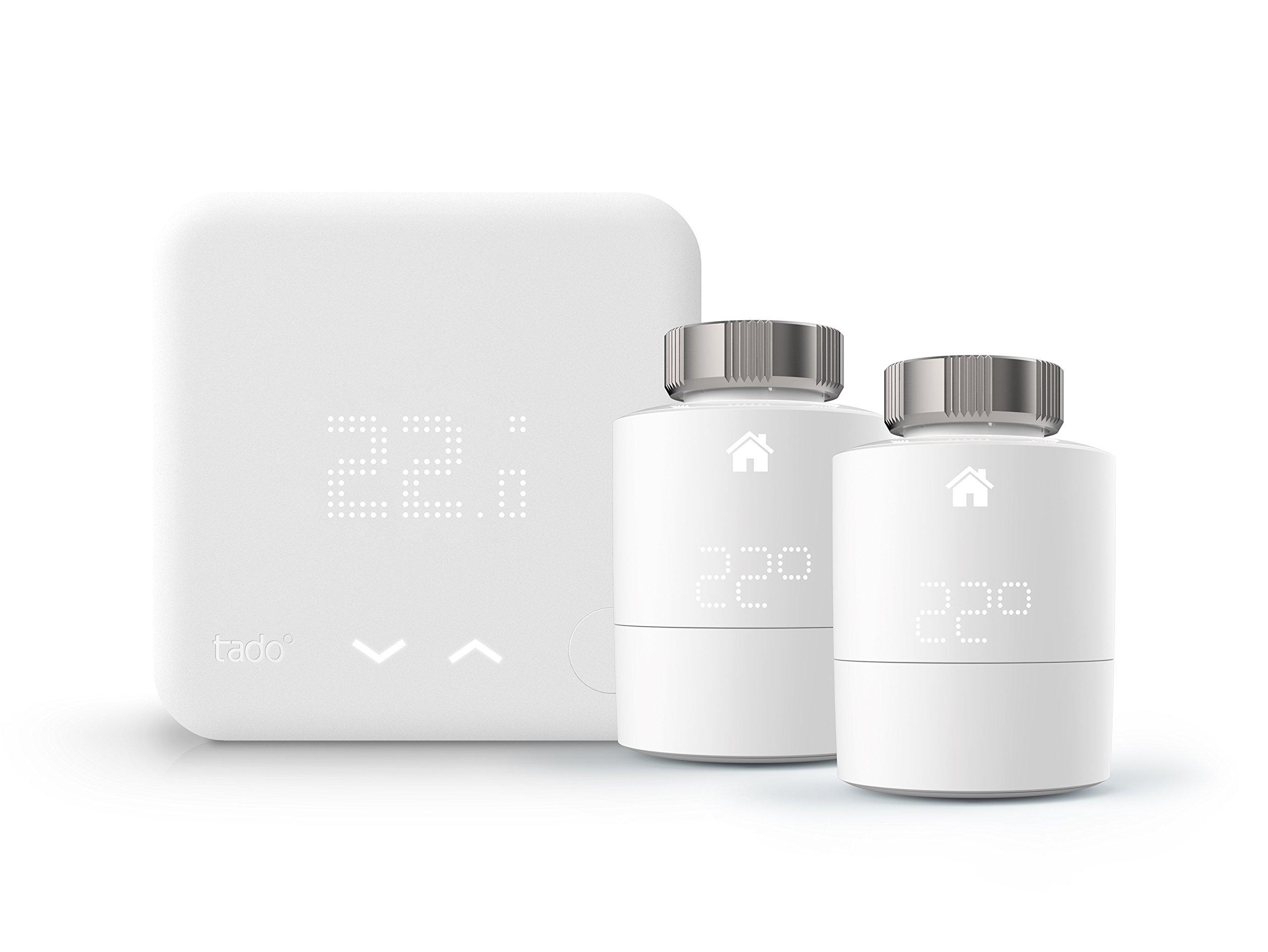 TADO KIT_HOME Thermostat avec 2 têtes thermostatiques connectés