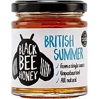 British Summer Honey - Pure and Natural, Single Origin British / UK Honey (227g Glass jar)