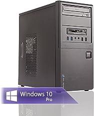 Ankermann-PC Work Business Office Happy Day PC, 24 Monate Garantie, AMD FX 4300 4x3.8GHz, GeForce GT 710 2GB, 8GB RAM, 240GB SSD, 1TB HDD, Windows 10 Pro