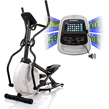 Fitness & Jogging Ausdauertraining Hammer Ergometer Crosstrainer Crosslife BT Cardio Fitness Training