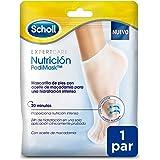 Scholl Mascarilla Nutritiva Para Pies, Hidratación Intensa en 20 Minutos – 1 Par (2 Mascarillas)