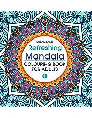 01 REFRESHING MANDALA COLOURING BOOK 1