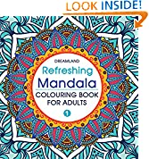 #1: Refreshing Mandala - Colouring Book for Adults Book 1
