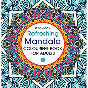 Refreshing Mandala – Colouring Book for Adults Book 1