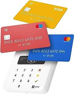 SumUp Air mobiles Kartenterminal zum bargeldlosen Bezahlen mit EC Karte,  Kreditkarte Apple & Google Pay und mehr - NFC RFID Geldkartenleser -