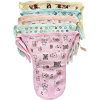 RedHoney Baby's Organic Cotton Printed Langot, Nappy, Diapers U Shaped Washable and Reusable (Multicolour, 0-6 Months…
