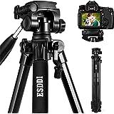 ESDDI Kamera Stativ Aluminiumlegierung Stativ Kompakt Leichtes Stativ 170cm/67inches für Smartphone DSLR SLR Canon Nikon…
