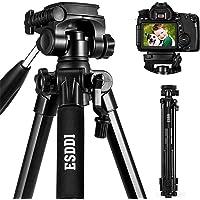 ESDDI Kamera Stativ Aluminiumlegierung Stativ Kompakt Leichtes Stativ 170cm/67inches für Smartphone DSLR Canon Nikon…