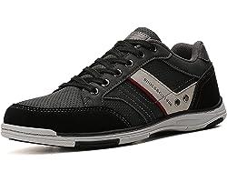 AX BOXING Scarpe Uomo Sportive Sneakers Running Ginnastica All'aperto Comodo Casual Running Taglia 41-46