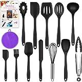 Mr Quality 13pcs utensili da cucina in silicone antiaderente Set di utensili da cucina in lavastoviglie Set da cucina resiste