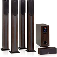 auna Areal Elegance - 5.1-Channel Surround System, Home Cinema System, Output: 190…