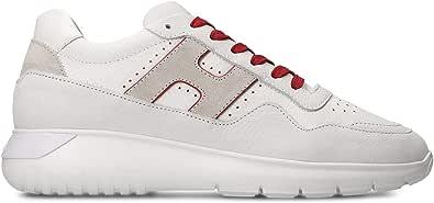 Hogan Sneakers Uomo HXM3710BR30KF60ZP0 Pelle Bianco