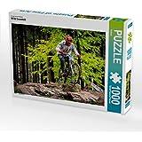CALVENDO Puzzle MTB Downhill 1000 Teile Lege-Größe 64 x 48 cm Foto-Puzzle Bild von Justin Restel