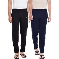 VIMAL JONNEY Men's Skinny Fit Trackpants (Pack of 2)