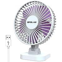 OPOLAR Mini Ventilateur de Bureau USB, Ventilateur Personnel Silencieux avec Flux d'air Puissant et Angle d'inclinaison…