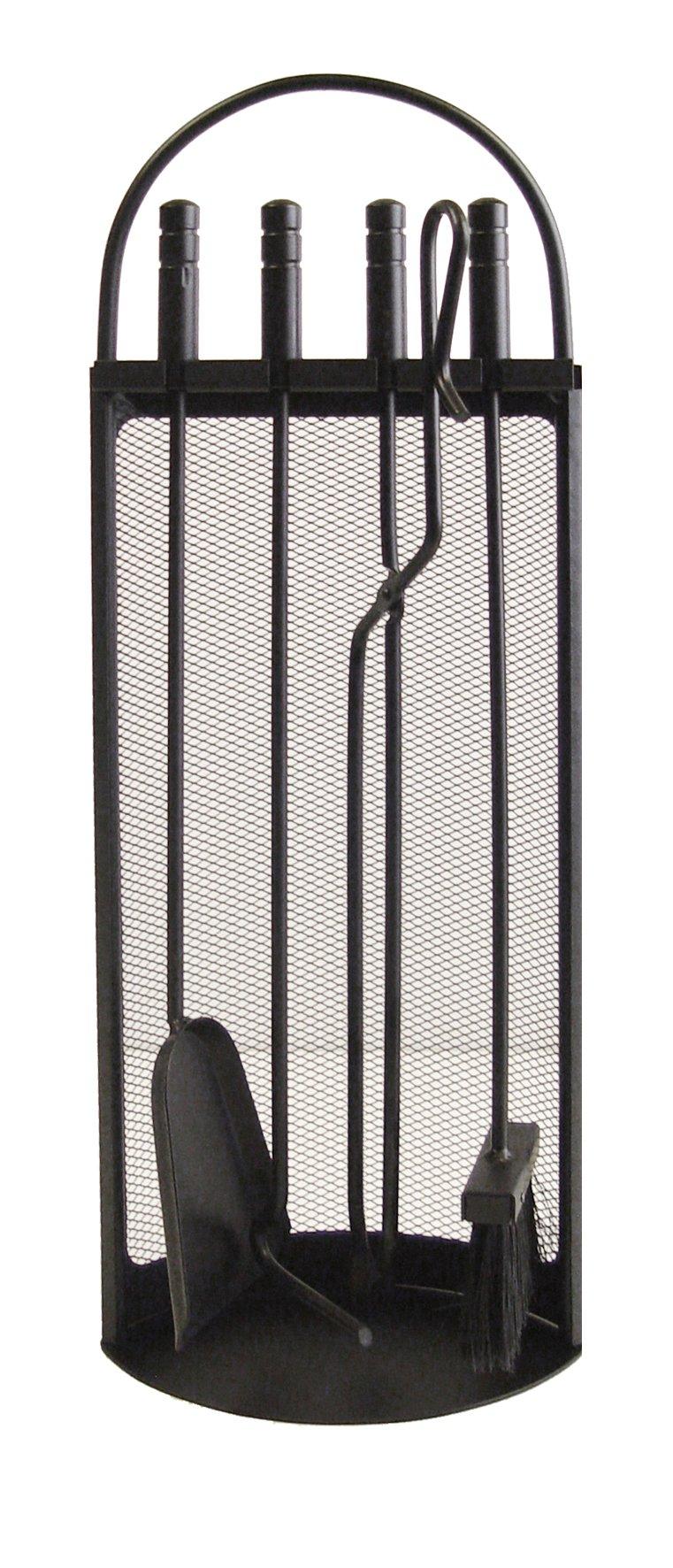 Imex El Zorro 10002 Juego para chimenea arco-malla (68 x 23 x 14 cm) útiles color negro