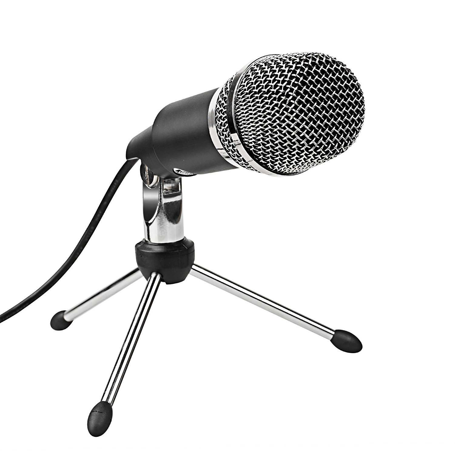 PC microphone,Fifine Plug &Play Home Studio Cardioid USB Condenser  Microphone for Skype, Recordings for YouTube, Google Voice Search,