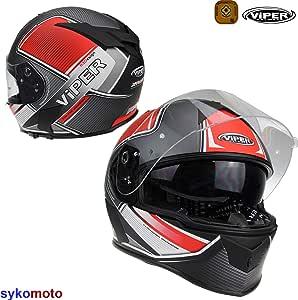 HUAA Casco Integrale Moto Scooter Casco Moto,Motorino Caschi Integrali Donna Uomo con Doppia Visiera Parasole,ECE Omologato,57-64cm