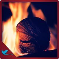 Blurry Fireplace - Watch the calm HD fireplace !