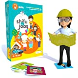Shifu iOS and Android Jobs Augmented Reality Learning Games,Blue (60 Profession Cards)