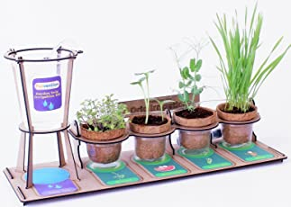 Funvention Garden Drip Irrigation Kit DIY Science Educational Toy (Multicolour)