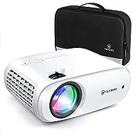 Videoprojecteur, VANKYO 5000 Lumens Projecteur Soutien 1080P Full HD Mini Retroprojecteur Portable Multimédia Home Cinéma Maison 2X HDMI VGA AV USB SD