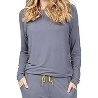Cyberjammies Rachel 4886 Women's Grey Modal Pyjama Top