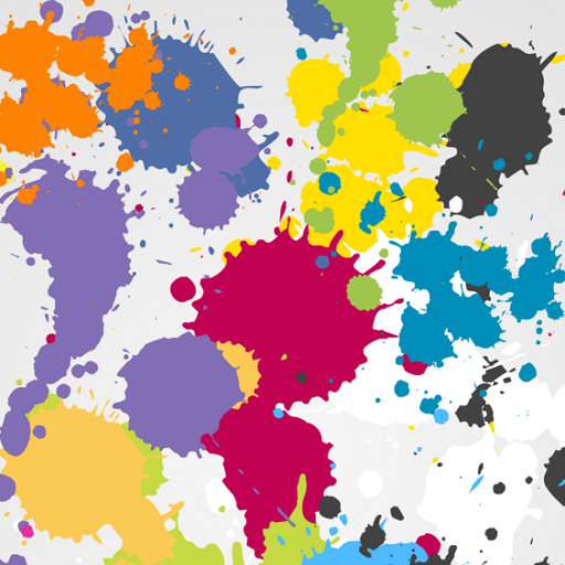 Splatter Wallpapers (Paint Splatter Neon)