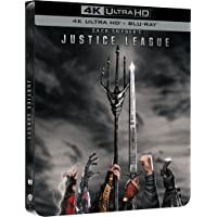 Zack Snyder's Justice League Steelbook (4K Ultra HD + Blu Ray)