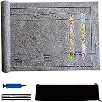 Tapis Puzzle Roll up 1500 2000 3000 Pièces Portapuzzle Accessoire pour Puzzle Support pour Puzzle (Gris, pour 1500pcs)